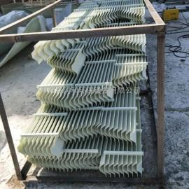 吸收塔除雾器 脱硫塔除雾器 玻璃gang除雾器 脱硫吸收塔除雾器