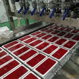 全自动猪血豆腐生产线 全套猪血旺设备 血豆腐加工流水线