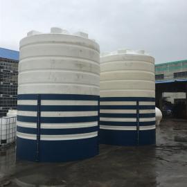 华社40吨耐酸碱氢氟酸储罐外加剂循环罐环保水塔滚塑一次成型40000L