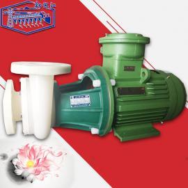 新安江耐腐蚀化工业单级偏氟卧式FV直联式塑料离心泵