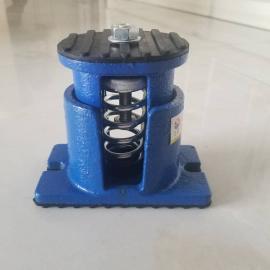 ZTE型阻尼弹簧减震器 可调式水泵 风机 中央空调座装弹簧减震器