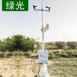 绿光 TWS-4B光伏电站气象站 太阳能电站九要素全自动小型气象站