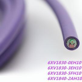 LRuiPROFIBUS DP现场总线电缆6XV1830-0EH10 紫色外被现货