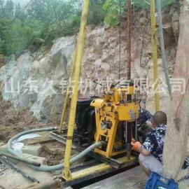 久钻机械液压水井钻机HZ-130Y民用打井机 钻井机