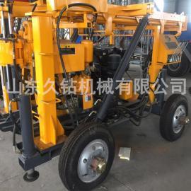 久钻机械拖车式液压水井beplay手机官方XYX-130民用百米打井机