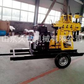 热销久钻机械轮式百米液压水井beplay手机官方XYX-200民用挖井机 钻井机