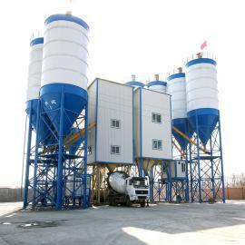 金隆HZS180型混凝土搅拌站 大型商品混凝土搅拌站
