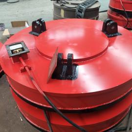 1.8米龙门吊电磁吸盘 废钢起重电磁铁