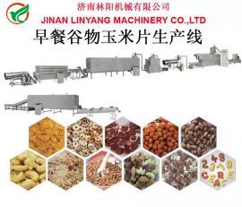 早餐谷物玉米片生产设备 早餐谷物玉米片生产线