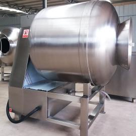 国宇GR-1000全自动不锈钢鱼肉真空滚揉机