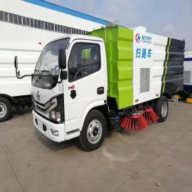东风程力小多利卡国六5吨扫路车,国六市政环卫城市道路清扫车