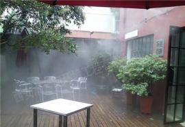水云间雾森系统AG官方下载,户外餐厅喷雾降温设备安装