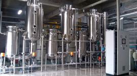 刮板真空减压浓缩罐定制生产中小试刮板浓缩蒸发器