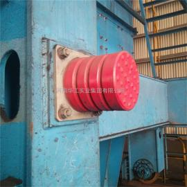 JHQ-C-12行车带铁板聚氨酯缓冲器 电梯天车防撞块 起重机防撞器