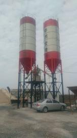 金隆HZS35工程混凝土搅拌站 小型工程搅拌站