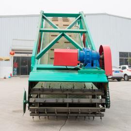 自走式青贮取料机 饲料堆取料机 青储池取草机