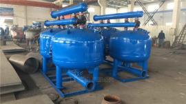 杭桂HG系列碳钢1.2米双罐全自动反冲洗砂石过滤器