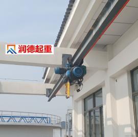 定做LX型5t组合式悬挂起重机 悬挂天车 泵房专用起重机