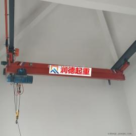 定做LX型2t单梁悬挂起重机 悬挂行吊 单轨悬挂起重机