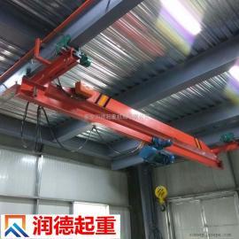 专用生产定制悬挂单梁起重机 电动葫芦悬挂单梁行车