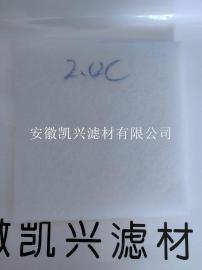 凯兴2CM厚PET涤纶聚酯纤维空气过滤棉