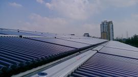 学校热水工程 高校太阳能热水器系统