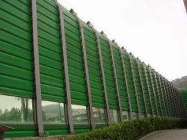 城市绿化带声屏障 顶部弧形隔声屏 透明组合吸音板