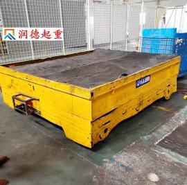 加工KP15t卷扬机轨道平车 5吨无轨电动平车 25吨电动摆渡车