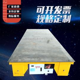 加工KP10t卷扬机轨道平车 5吨无轨电动平车 10吨地轨车