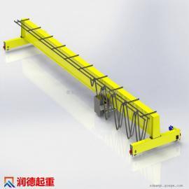 定做LD2.8t单梁起重机 LDB防爆单梁桥式起重机 单轨吊车