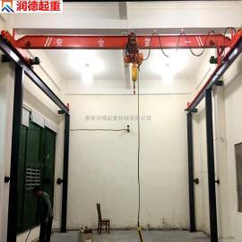 定做LD10吨电动单梁起重机 室内天车 SQ手动单梁起重机