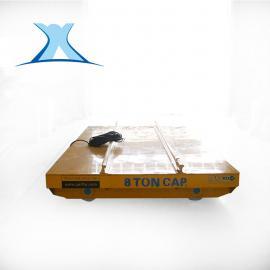 百特智能橡胶制品电动搬运车 紧固件搬运轨道车 耐火材料转运车非标定制