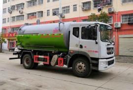 东风D9(12方)吸污车|清洗城市下水道吸污车