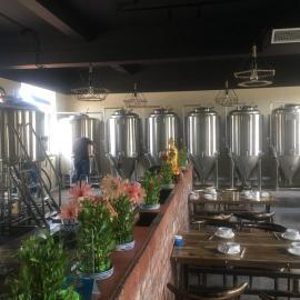 自酿啤酒设备,啤酒屋小型酿酒设备