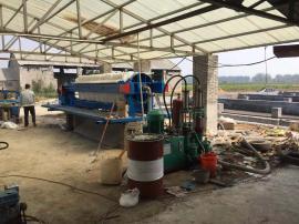 养殖粪便处理设备,养殖污水处理设备,高压圆形压滤机