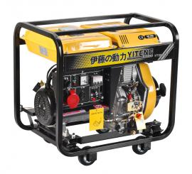 移动5KW三相柴油发电机YT6800E3