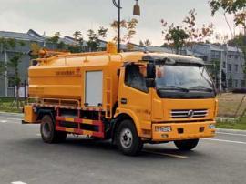 东风(4-8方)清洗吸污车|清洗城市下水道吸污车|清洗吸污两用车