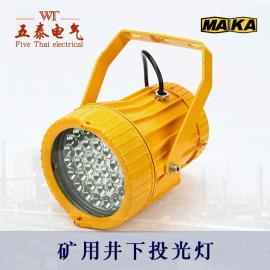 50W圆形矿用LED投光灯DGS50/127L(D)