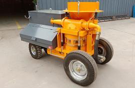 中科TK700型混凝土湿喷机应用*为成熟的转子活塞凸轮喂料机构