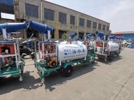 电动三轮小洒水车新能源小型洒水车产地工地雾炮喷水降尘车