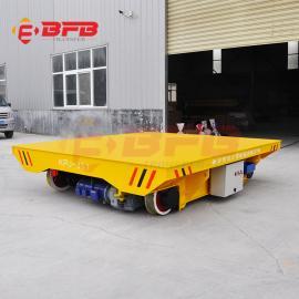 百分百60吨卷扬机轨道平车 轨道式子母车 钢构车间平板车方案视频KPJ
