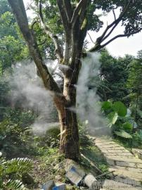 园林广场人工造雾