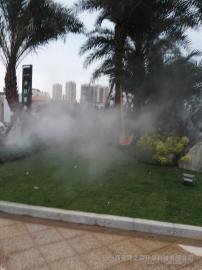 人工湖景观造雾设备可降低温度