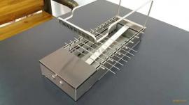 很久以前自动烧烤桌,拉丝白钢台面,老榆木台面,黑钢做旧台面