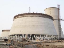 *发电厂双曲线凉水塔新建滑模施工公司