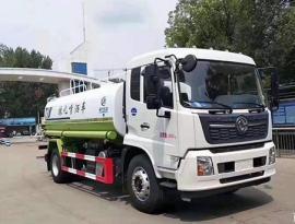 国六东风天锦15方洒水车