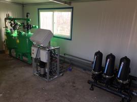 圣大节水水肥一体机大棚果园环保省水实力生产