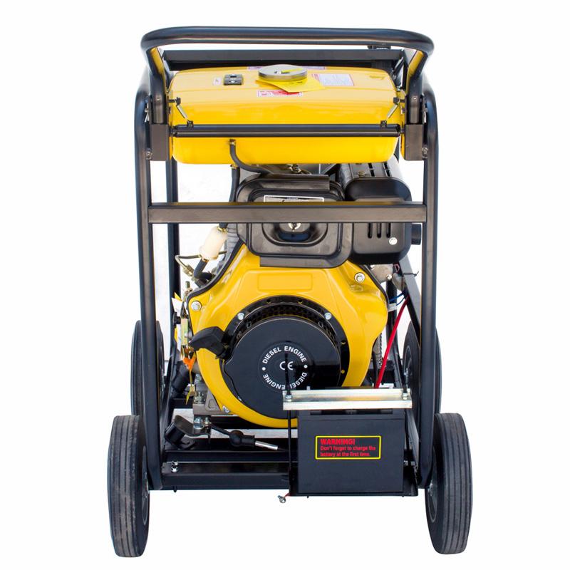应急移动式4寸柴油机自吸水泵