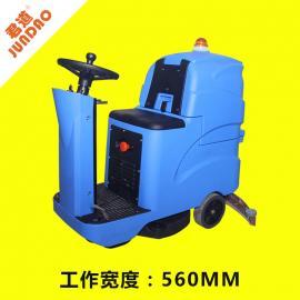 君道大面积工厂用驾驶式洗地机