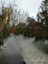 喷雾造景主机 园林冷雾人工造雾